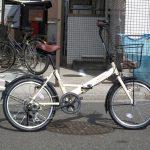 丸石 ロキシー 20インチ折り畳み自転車