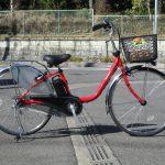 パナソニック ビビ・DX 新型電動自転車