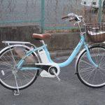 パナソニック ビビ・LU 軽さにこだわった電動自転車