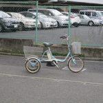 電動アシスト三輪自転車 試乗車あります。