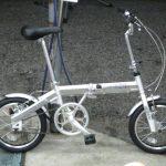 サカモトテクノ 16カリブーライト 軽量な折り畳み自転車