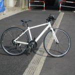 ブリヂストン SILVA F24 グリーンレベールのクロスバイク