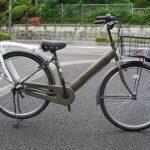 シオノ自転車 ターボラバー 軽快車