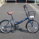 マルイシ ロキシー 折り畳み自転車