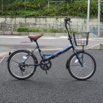 丸石 ロキシー 折り畳み自転車