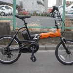パナソニック オフタイム 折りたたみ電動自転車