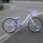 ブリヂストン エコパル 女の子の自転車