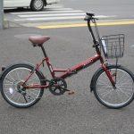マルイシ ロキシー お買い得な折り畳み自転車