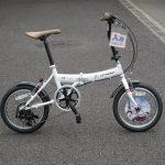 シトロエン 16インチ 折り畳み自転車