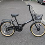 ダイニチ グランドガーデン 20インチ6段ギヤ 折り畳み自転車
