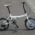 シトロエン 16インチの折り畳み自転車