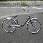 サカモトテクノ アルマイン 24インチ軽量自転車