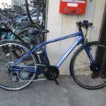 "<span class=""title"">ブリヂストン TB1e 電動自転車入荷です。</span>"