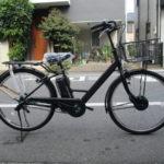 """<span class=""""title"""">ブリヂストン ステップクルーズe  しぶかっこいい電動自転車</span>"""