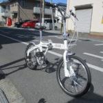サカモトテクノ カリブーライト 軽量・お買い得な折り畳み自転車