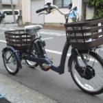 ブリヂストン フロンティアラクットワゴン のりやすい電動三輪車