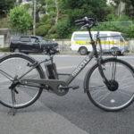 """<span class=""""title"""">ステップクルーズe かっこいい電動自転車</span>"""